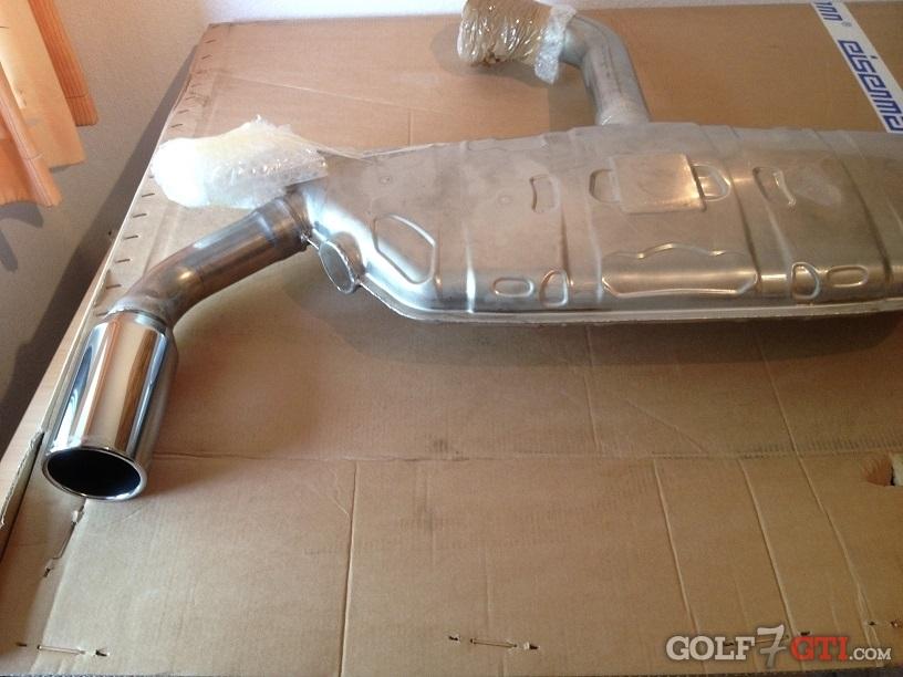 eisenmann exhaust golf 7 gti community forum. Black Bedroom Furniture Sets. Home Design Ideas