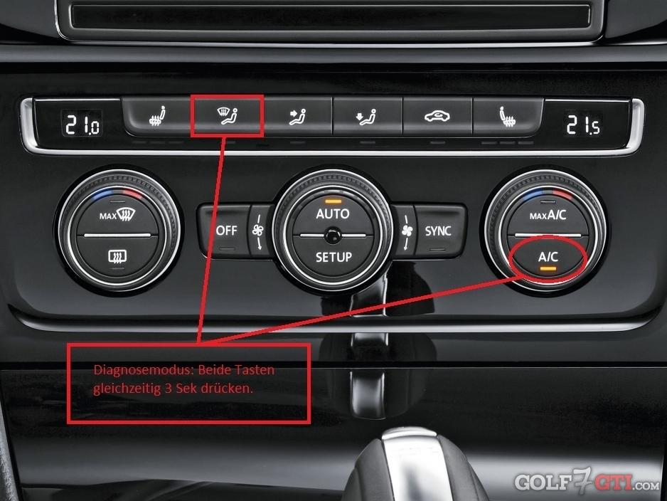 Fragen und Probleme Klimaanlage / Climatronic • Golf 7 GTI Community