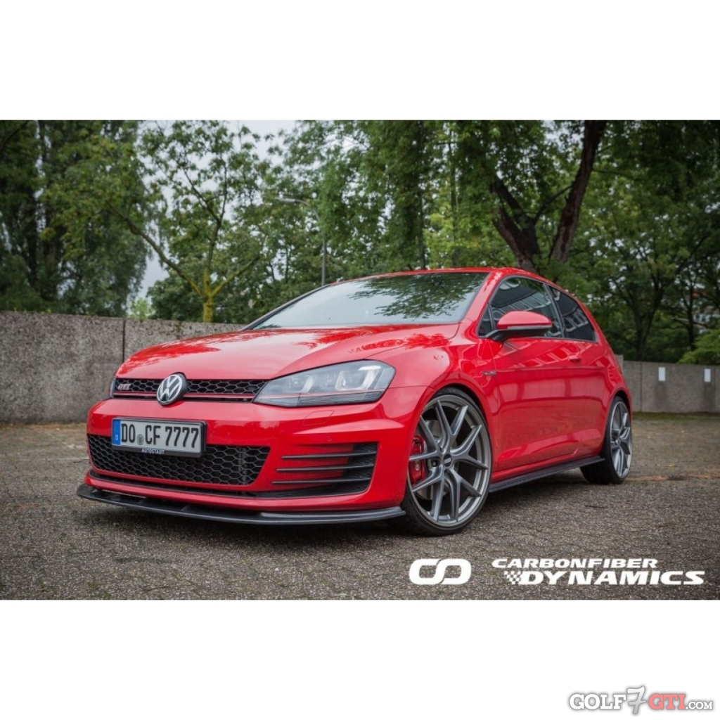 vordere spoilerlippe rieger etc golf 7 gti community forum. Black Bedroom Furniture Sets. Home Design Ideas